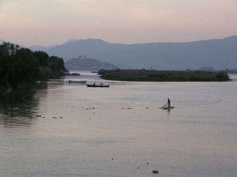 Fishermen, Lake Patzcuaro