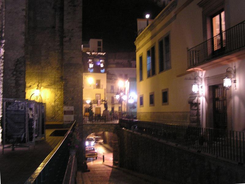 Subterranean street