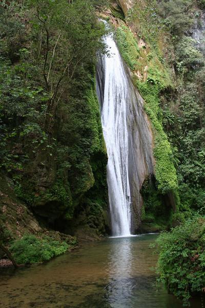 Cascada Chuveje, between Jalpan & Pinal de Amoles, Sierra Gorda