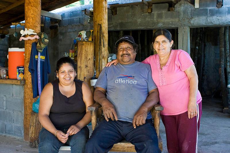 "Narciso (""Cizo"") Hernandez, Portrero Redondo<br /> His house is at the trailhead to Chipitin falls 45 min hike away"