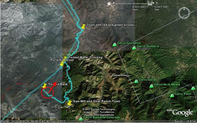 thumper Tim's route