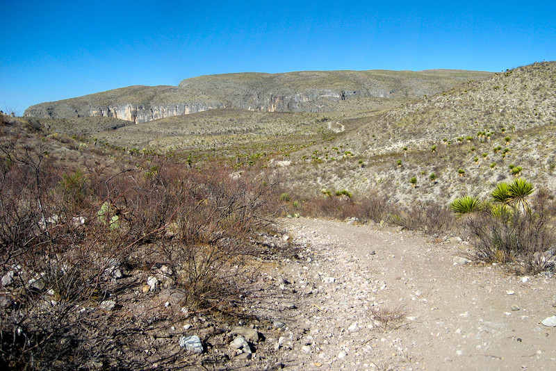 This landform is called Elvira's Crack.