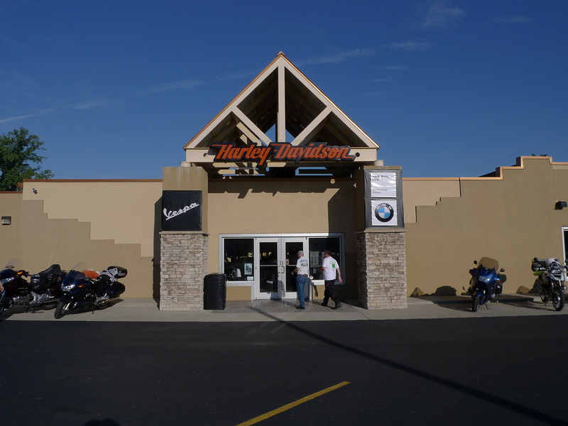 Louisville HD/BMW<br /> The riders gather one the morning of day one