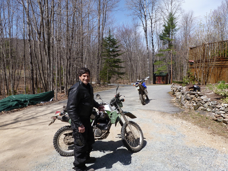 2012 opening day of trailriding with Benjamin Seaver