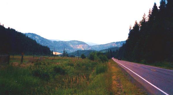 ID  hwy 3, Rose Lake, Idaho, july 20, 2001a