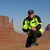 Arizona   Nov 6, 2007, @  230pm,  Monument Valley  Navaho Tribal Park,  The Mitten Buttes