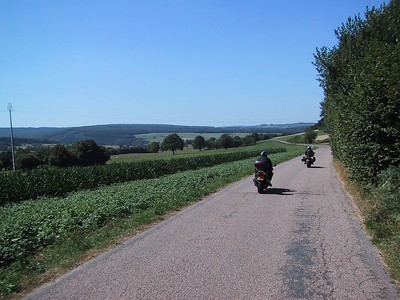 We continue our way thru the romantic Ardennes..