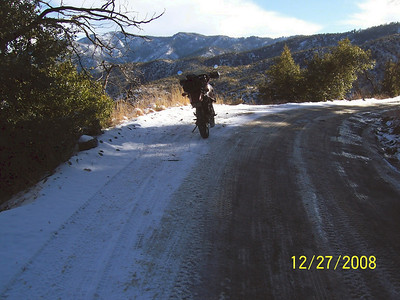 Mount Lemmon December Snow