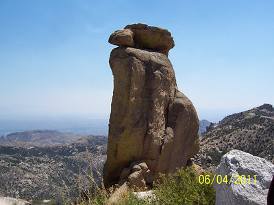 Mount Lemmon with Jerry