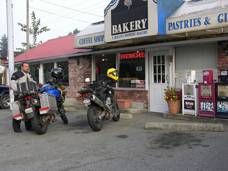 The Sultan Bakery, Sultan, WA. A favorite breakfast stop whenever heading over Stevens Pass or up towards Mt. Baker.