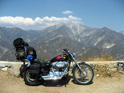 Mt Baldy in the background