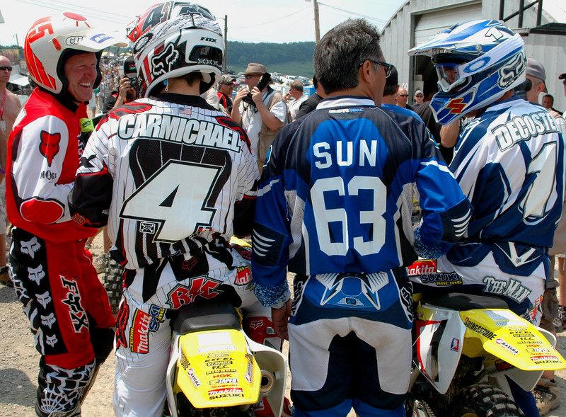 A TON of MX History ,wins and championships between this group....
