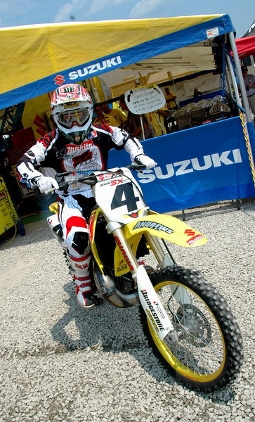 You won't see many more pics of RC on a 2 stroke again>..