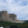 The approach to Crazy Horse Monument.