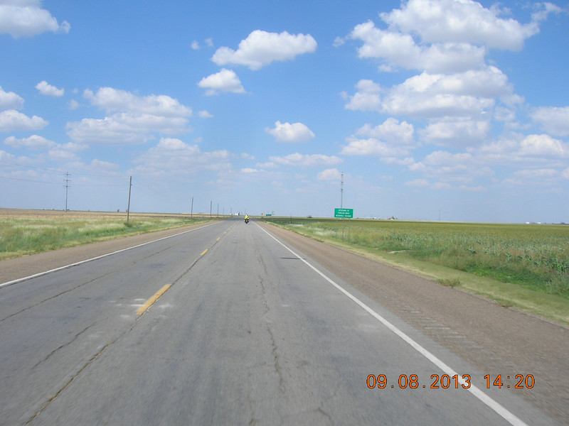 My least favorite road - US 287 between Decatur and Amarillo.  On this day we turned north at Childress to overnight in Liberal, KS