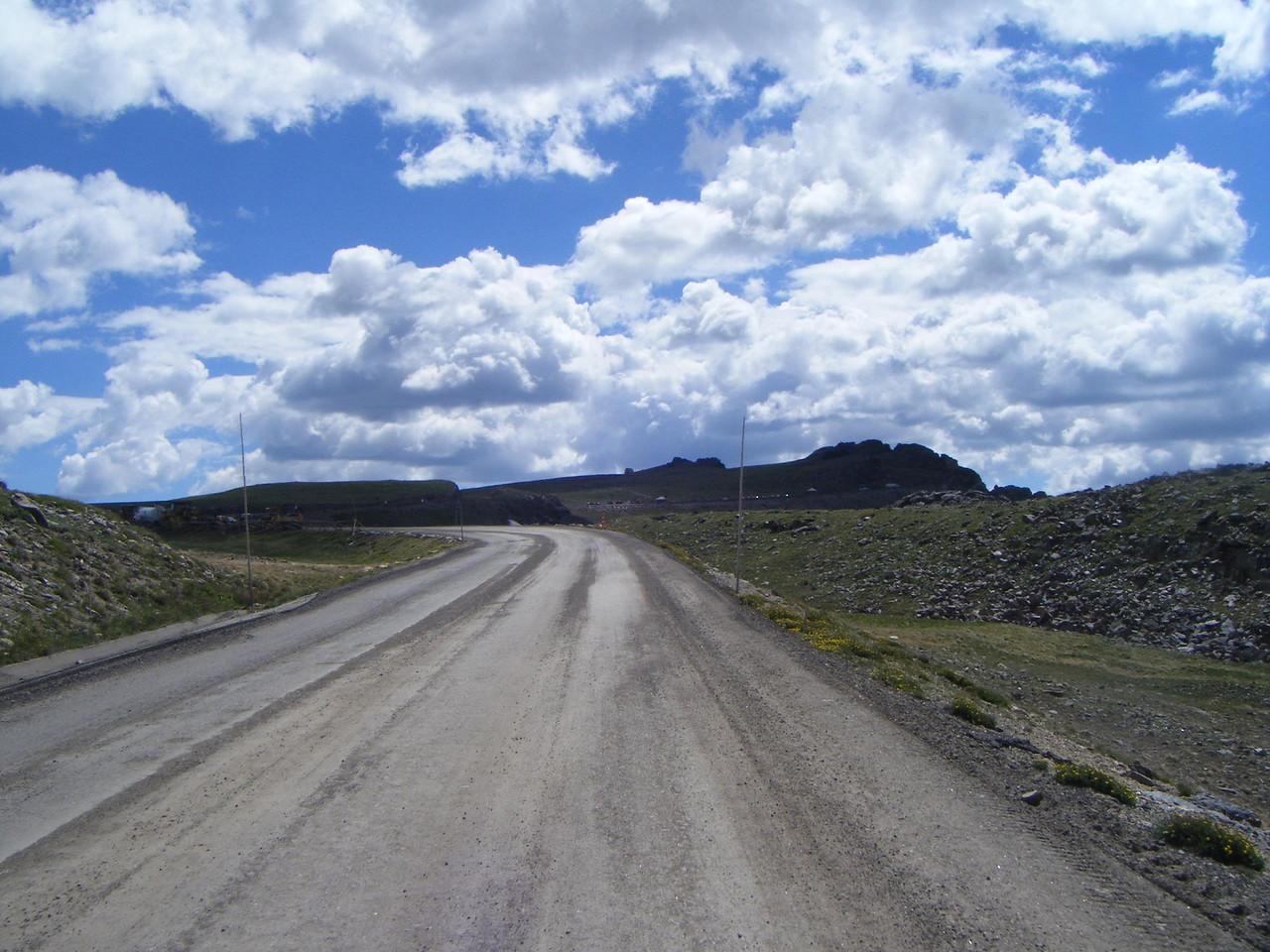 Rocky Mountain NP roadwork