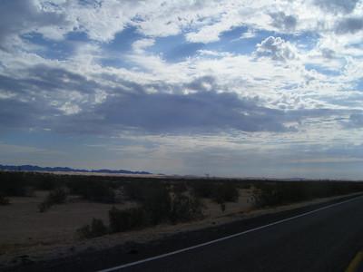 Glamus sand dunes