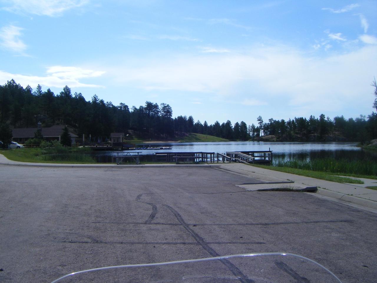 high altitude lake entering RMNP Rocky Mountain National Park