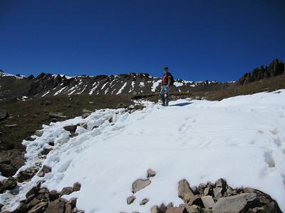 Mt. Sneffels Bike/Hike, Ouray CO - 9/23/2011
