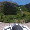 Engineer Pass up from Lake City, 11 July