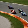 1st lap, Pedarosa leads Stoner, Capirossi, Rossi, Hayden, Lorenzo, Edwards