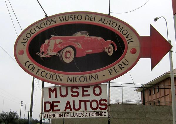 La Asociacion Museo Del Automovil, Lima, Peru