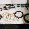 Thinking this is my 440 clutch as it would not completely disengage and the answer now obvious.  The fiber plate had broken up wedging clutch material between the steels preventing complete release.<br /> <br /> 38-later Fours were built with 16 spring clutches to permit the fitment of heavy side cars without any drivetrain modification.  This is way too many for clutch component longevity.   Fitting a Qua sintered bronze or King fiber retrofit immediately drops the spring requirement to no more than 8 for far better clutch engagement modulation and vastly improved longevity.