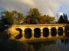 Rainbow Sunset <br /> Stone Six Arch Bridge  <br /> Pine Creek <br /> Chilton WI