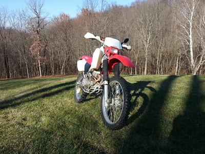 2000 Honda xr400r