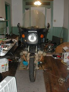 1988 BMW R100RT Spun a Rod bearing at 120,000 miles.