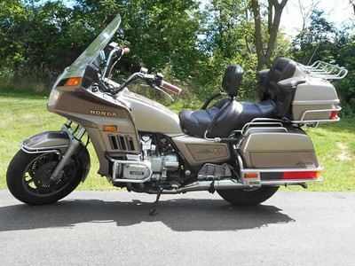1984 Honda Gold Wing Aspencade.  I bought one like this one new in May 1984 and sold in 1989.