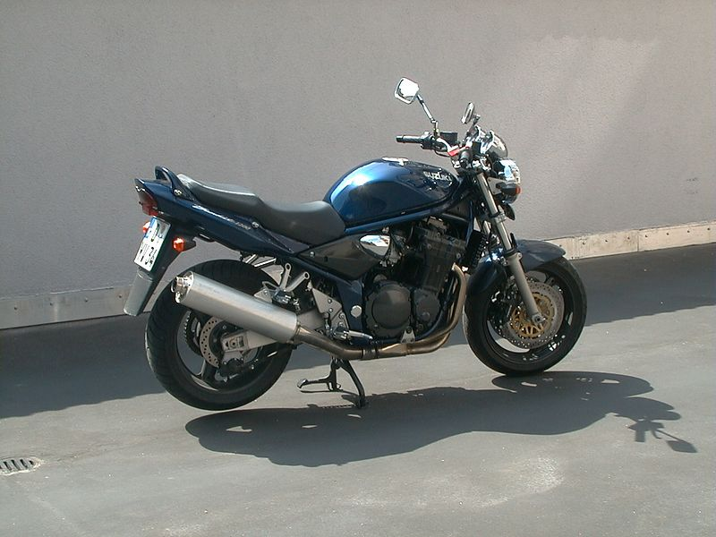 Suzuki Bandit GSF 1200 - bought in Feb. 2001, totalled Sept. 2002 by sleeping steel cage driver
