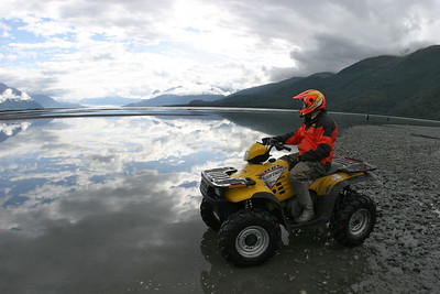 The Knik Valley in Alaska on September 3, 2003. 1/250th at f8.