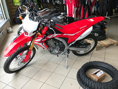 My Honda CRF250L 2018