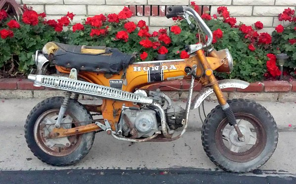 My Honda Trail 70 Project Bike