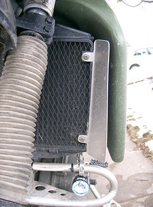 I made a aluminum radiator shroud to kick in just a little more air. Figured it could'nt hurt.