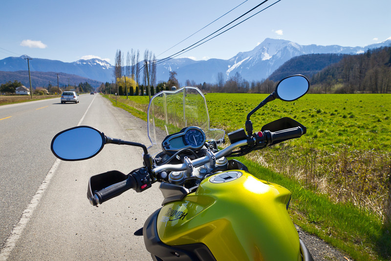 Spring ride to Harrison Hot Springs.