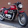 My new 2010 Triumph Thruxton