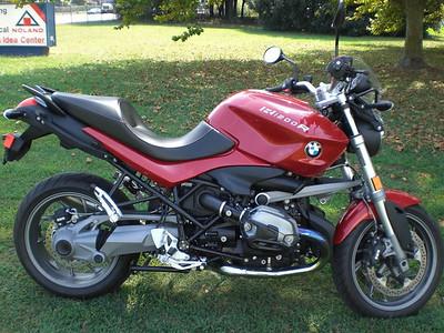 My New BMW R1200 R