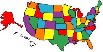 All the states in 8 years!