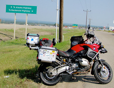 I've been on the Alaska Highway before ....... this time I'll take the Mackenzie!