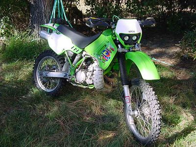 1992 Kawasaki KDX200  (dirtbike)