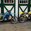 Spring is nearly here so a good amount of time spent getting these bikes started and adjusted. At this point they are both running great, handling and braking are very very good. This is the first time I have ridden them both on the same day. The YZ465 is lighter and is easier to turn but the IT495 seems to have more grunt. They are both plenty fast!