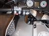 BMW R1200RT - Linkerstuurhelft met Cruiscontrol, ESA (Electronic Suspension Adjustment), verlichting, in hoogte verstelbaar scherm, Claxon, linker pinker en radiobediening.