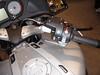 BMW R1200RT - Rechterstuurhelft met BC (Boordcomputer), dodemansknop, zetelverwarming, rechter pinker, uitschakelaar pinkers en handvatverwarming.