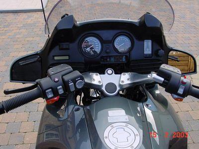 BMW R1150RT - Instrumentenbord