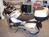 BMW R1200RT - Achteraanzicht schuin links.