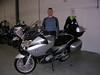 Op Zaterdag 12/01/08 om 10.00 u ben ik de motorfiets gaan afhalen bij Jorssen Motor Sport te Aartselaar.