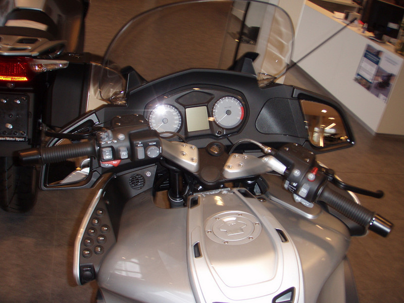 BMW R1200RT - Instrumentenbord.