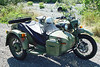 """This is my 2005, Ural """"Gear-Up"""",  it has selectable two wheel drive and reverse.  I will be making some major modifications to this bike and will be taking it on many off road and hinterland adventures.  It's a real blast to drive."""